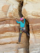 Rock Climbing Photo: Marilla in the maw