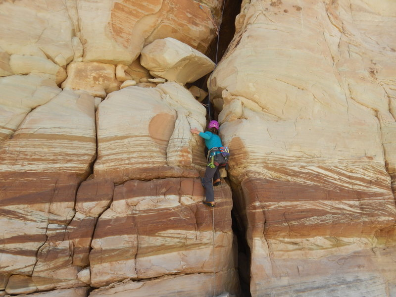 Rock Climbing Photo: Do as Marilla and stay outside!