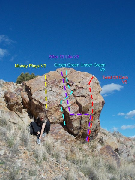 Rock Climbing Photo: Big Boy Boulder