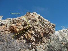 Rock Climbing Photo: Teddy Picker