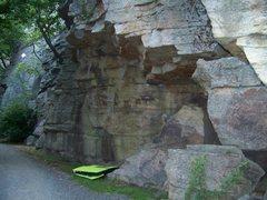 Rock Climbing Photo: Gunks: Bouldering