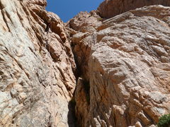 Rock Climbing Photo: Pulling on some five star granite out side of Mend...