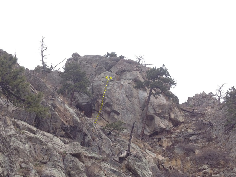 The view from the edge of Hillbilly Rock 2.