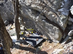 Rock Climbing Photo: Another shot of Nature Boy, this one showing the l...