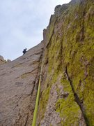 Rock Climbing Photo: Pitch 1 Mystery of the Desert