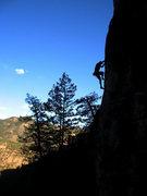 Rock Climbing Photo: Dark Side of Shelf Rd