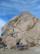 Rock Climbing Photo: Barely Crankin' Topo