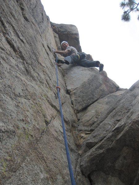 Rock Climbing Photo: Book Learnin'.