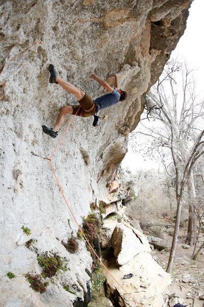 Rock Climbing Photo: flake