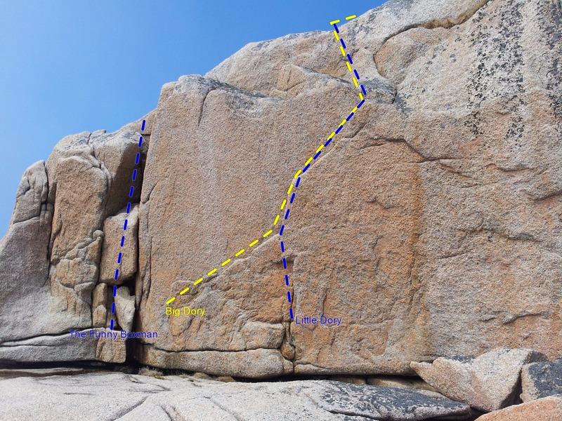 Rock Climbing Photo: Dory wall.
