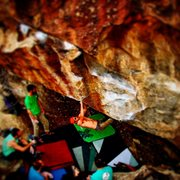 Rock Climbing Photo: Miles to go on That Hi-Pro Glow