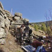 Rock Climbing Photo: Cruising up to the top!