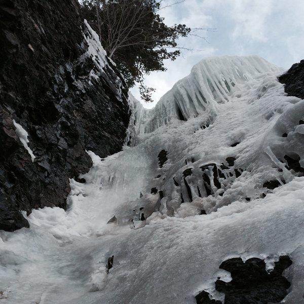 Rock Climbing Photo: Nice ice!