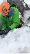 Rock Climbing Photo: Green! Peter Metcalf, that's bright.