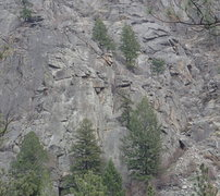 Rock Climbing Photo: West Face - Right Side