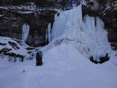 Rock Climbing Photo: Platekill Falls 2015