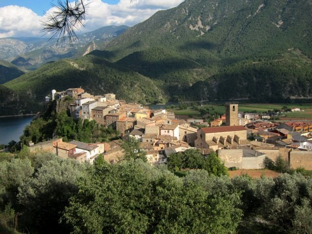 The town of Coll de Nargó