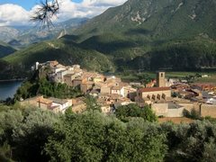 Rock Climbing Photo: The town of Coll de Nargó