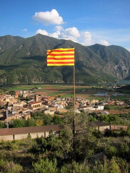 Coll de Nargó...you're in Catalonia, son.