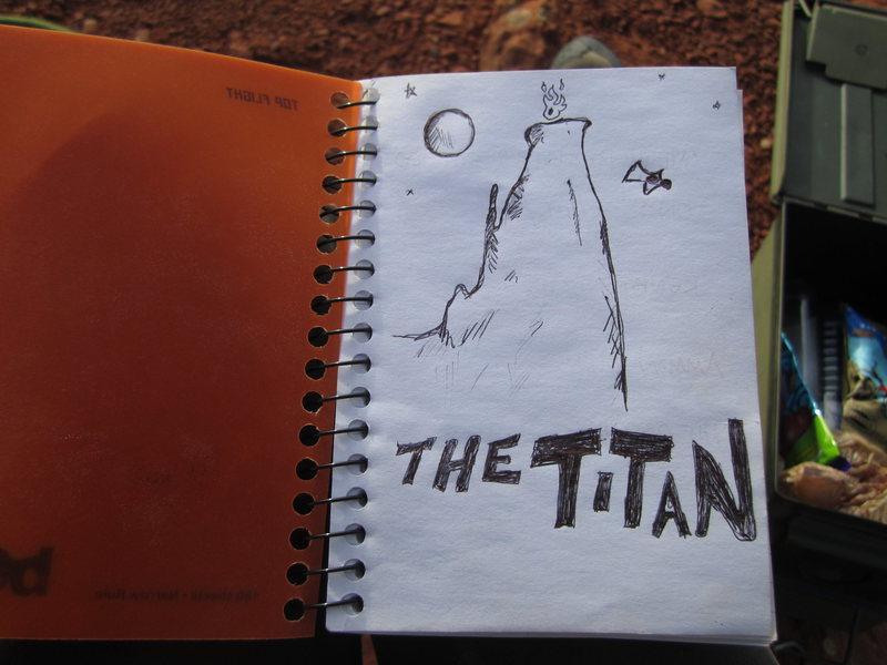 Rock Climbing Photo: The Titan!!!