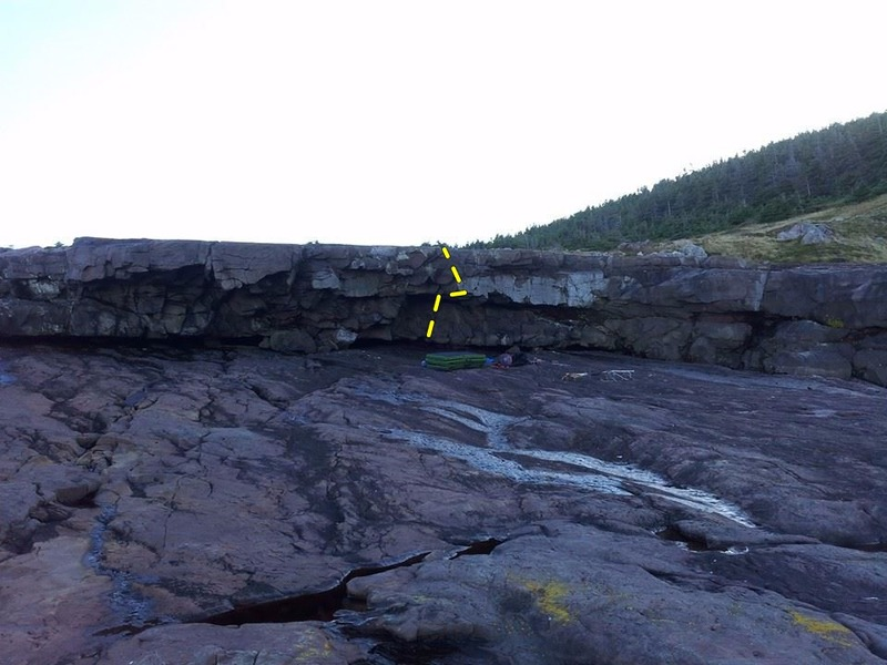 Rock Climbing Photo: Thunder Cling