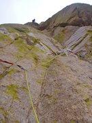 Rock Climbing Photo: P2 Mystery of the Desert