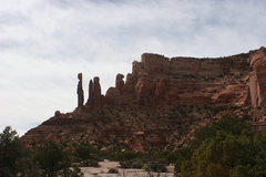Rock Climbing Photo: View of thin man once you reach the top mesa.