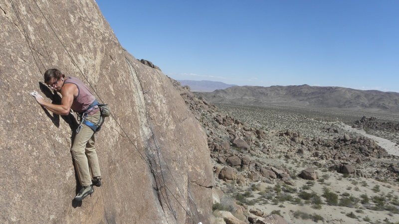 Rock Climbing Photo: Alex Kendrall on B.B.J.