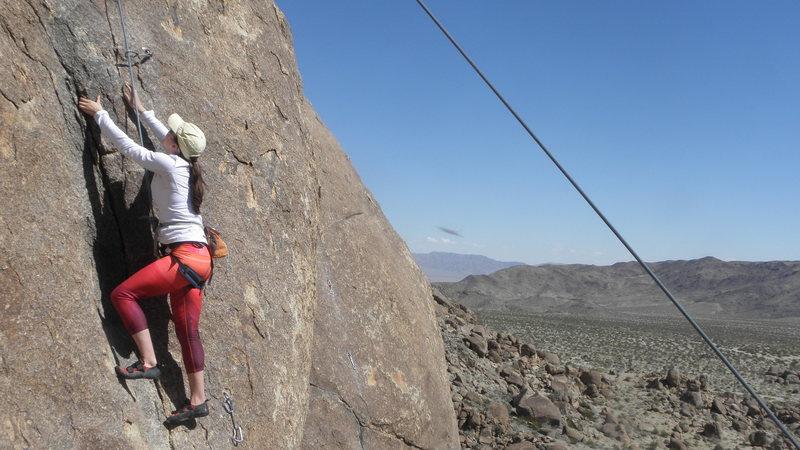 Rock Climbing Photo: Carmax...Hillary Lunga climbing...
