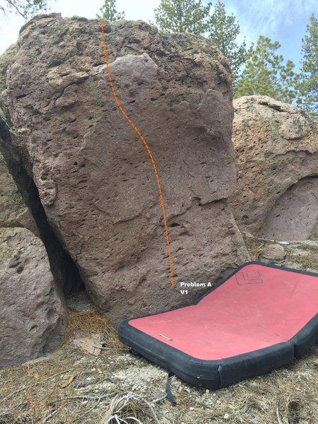 Southern Flank Boulder Topo