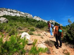 Rock Climbing Photo: Headin' up to Dipòsits