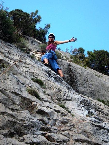 Rock Climbing Photo: Fun at Bel Canto
