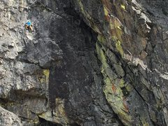 Rock Climbing Photo: flying snakes 11a. the cove, bowman valley, ca.