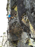 Rock Climbing Photo: flying snakes .11a, the cove, bowman valley, ca.