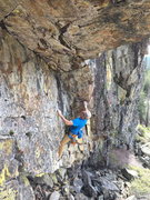 Rock Climbing Photo: the cove, bowman valley, ca