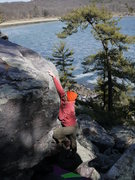 Rock Climbing Photo: egghead climbing, photo satermo