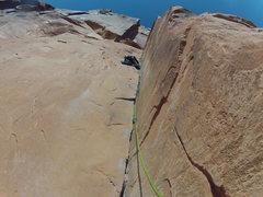 Rock Climbing Photo: 30 seconds, Wall Street