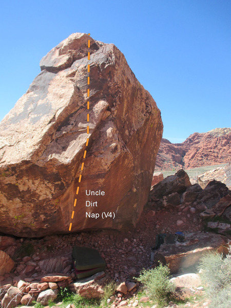 The dihedral gives way to thin slab climbing.