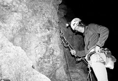 Night climbing was fun