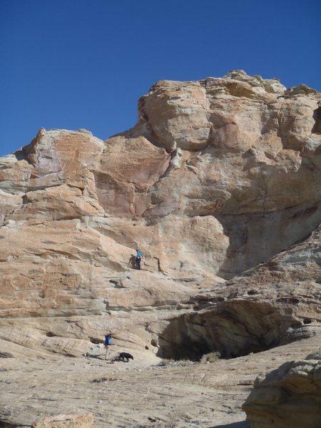 Rock Climbing Photo: PG 13 for a reason!