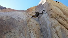 Rock Climbing Photo: Alex cruised this thing in a couple of minutes, ya...