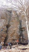 Rock Climbing Photo: Bobby nearing the top!