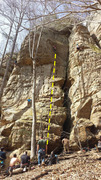 Rock Climbing Photo: The classic 5.8 at The Gallery