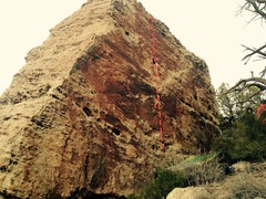 Rock Climbing Photo: Beta for Watching Soaps, Getting High.