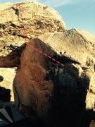 Rock Climbing Photo: Beta for Puberty Beard.