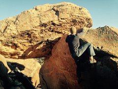 Rock Climbing Photo: Bag on Puberty Beard.