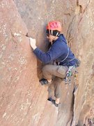 Rock Climbing Photo: Pitch 1 of Bastille Crack.