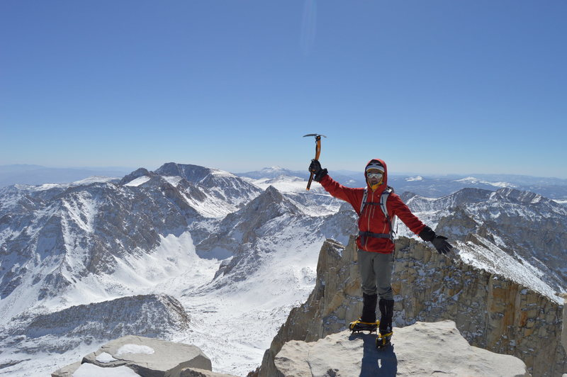 Mt. Whitney via Mountaineer's Route<br> 3/7/2015