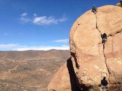 Rock Climbing Photo: Climber: Eric Catig Photo by: Ryan Cabrestante