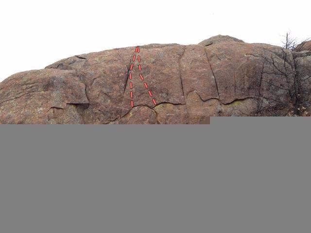 Rock Climbing Photo: Disco Balls Wall.